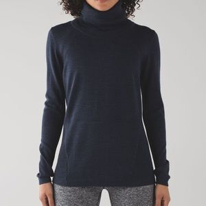 SALE!! Lulu Sweat and Savasana Sweater Blue Sz 6